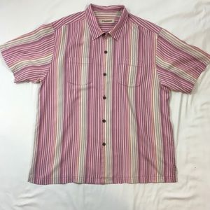 Mens XL Extra Large Tommy Bahama Button Shirt
